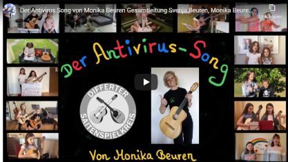 Antivirus-Song auf Youtube